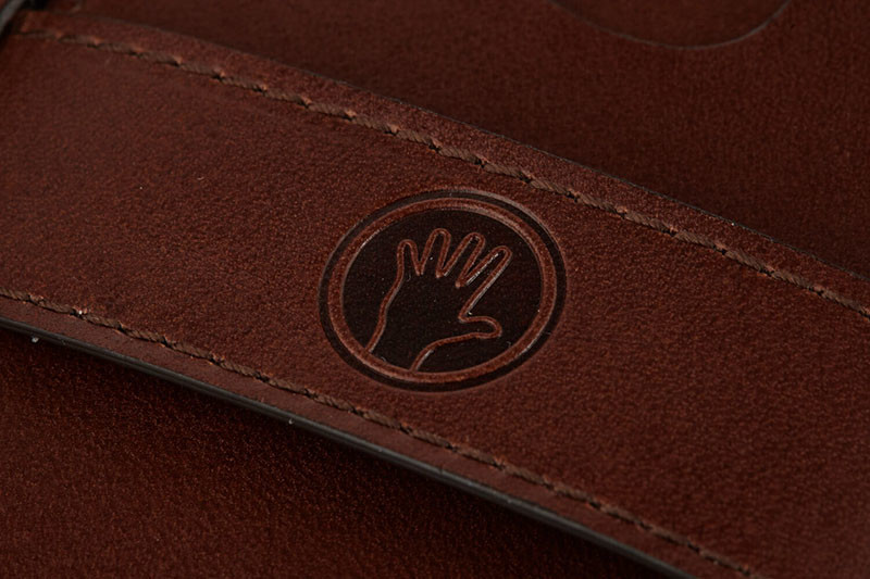 Chocolate Brown Magic Wallet detail