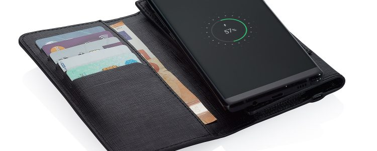 Wireless Charging Smartphone Wallet