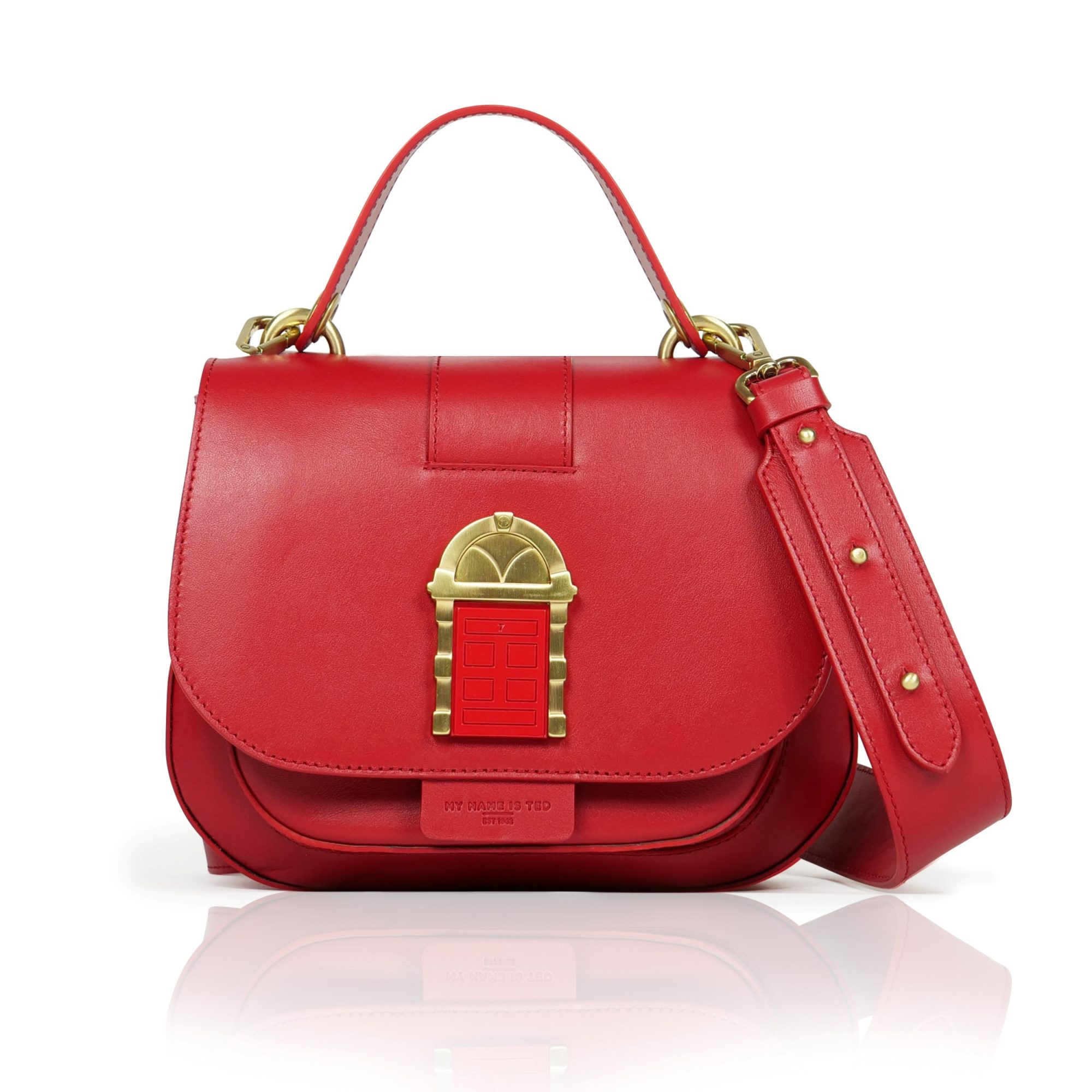 Door Bag Crossbody Red